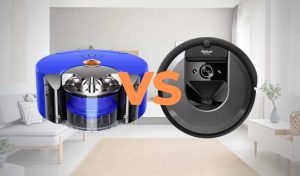 Read more about the article Dyson 360 Heurist vs Roomba i7+ [Side-by-Side Comparison]